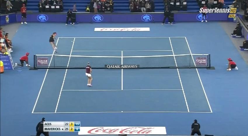 Deux points monstrueux d'Ana Ivanovic à l'IPTL 2014.