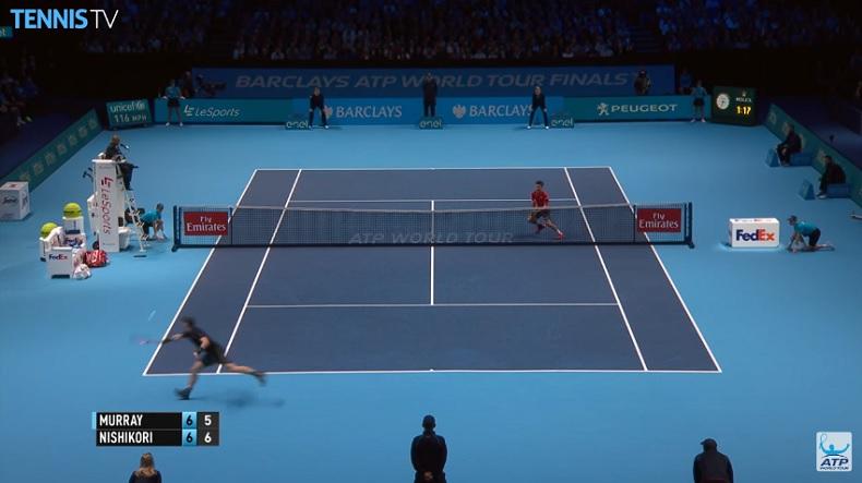 Andy Murray est partout, comme d'habitude.