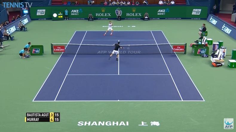 Andy Murray a été impressionnant à Shanghai.
