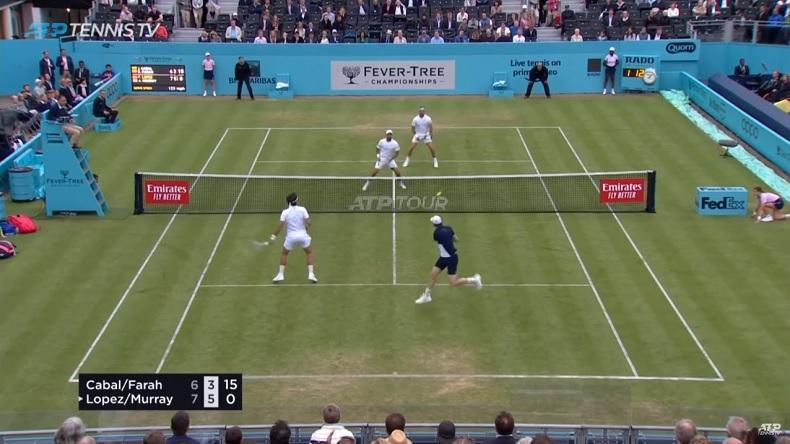 Andy Murray a gagné pour son retour à la compétition au Queen's.