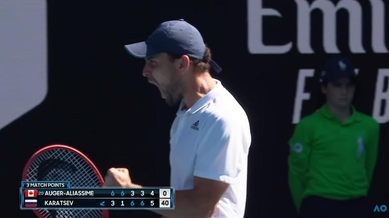 Retour sur le parcours historique d'Aslan Karatsev à l'Open d'Australie 2021.
