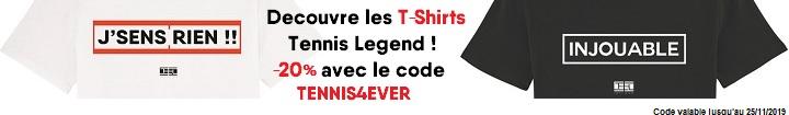Découvre les T-Shirts Tennis Legend