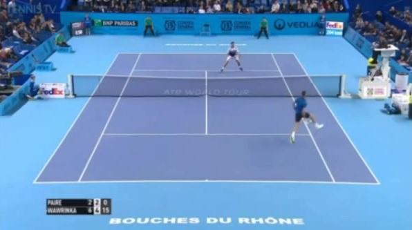 Du tennis champagne entre Benoît Paire et Stan Wawrinka au tournoi de Marseille 2015.