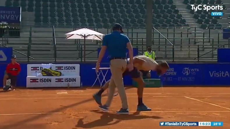 Encore une belle prestation de Benoît Paire au tournoi de Buenos Aires 2021.