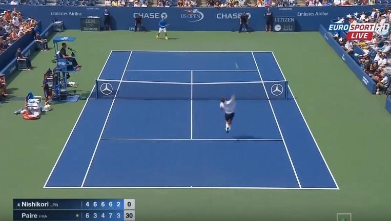 Le résumé de l'exploit de Benoît Paire contre Kei Nishikori au premier tour de l'US Open 2015.