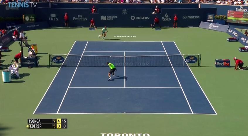 Les meilleurs points du Masters 1000 de Toronto 2014.