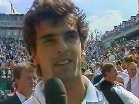 Analyse légendaire de Cédric Pioline à la fin de son match contre Marcelo Rios à Roland Garros 1998.