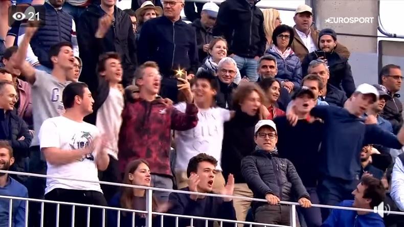 Le tube de Roland-Garros 2019 pour Jérémy Chardy.