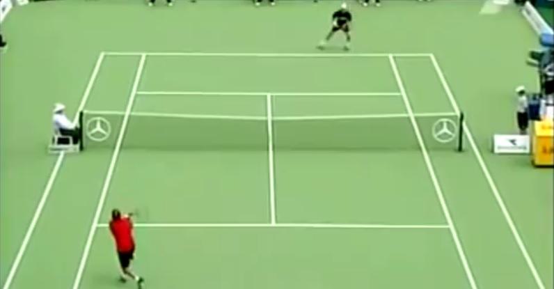 David nalbandian un revers court crois d 39 un autre monde for Longueur d un court de tennis