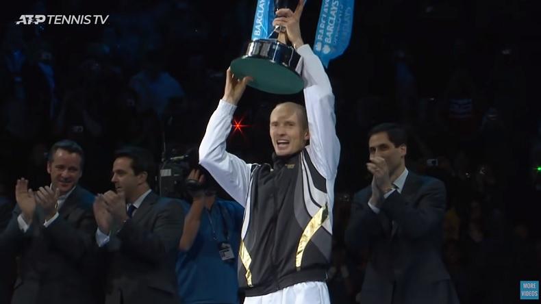 Nikolay Davydenko remporte le Masters 2009 en alignant les victoires prestigieuses.