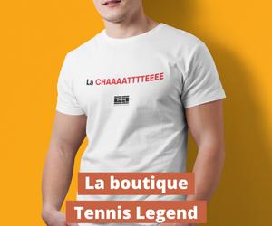Les T-shirts Tennis Legend dans la boutique
