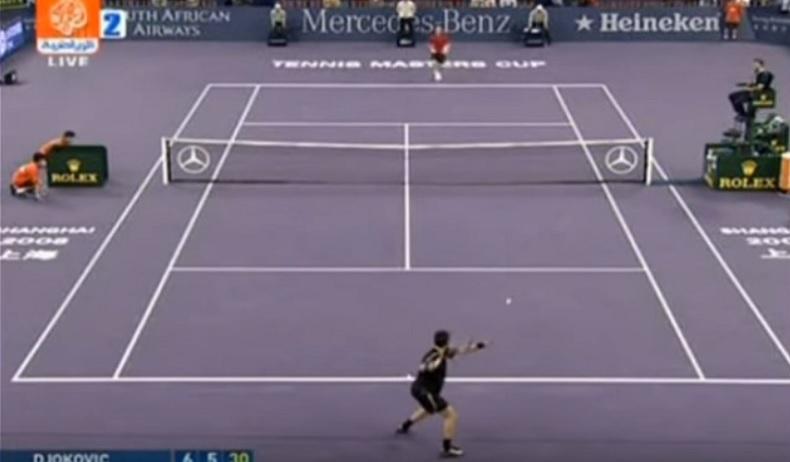 Novak Djokovic remporte son premier Masters en 2008.