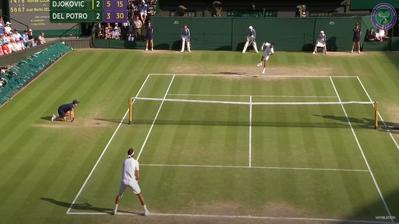 En 2013, Novak Djokovic et Juan Martin Del Potro avaient disputé une demi-finale d'anthologie à Wimbledon.