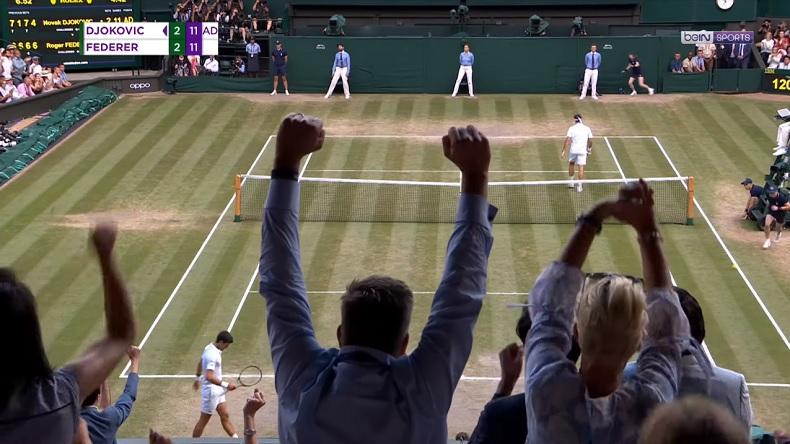 Un match de légende entre Novak Djokovic et Roger Federer en finale de Wimbledon 2019.