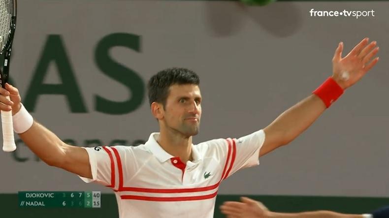 L'exploit de Novak Djokovic contre Rafael Nadal en demi-finales de Roland-Garros 2021.