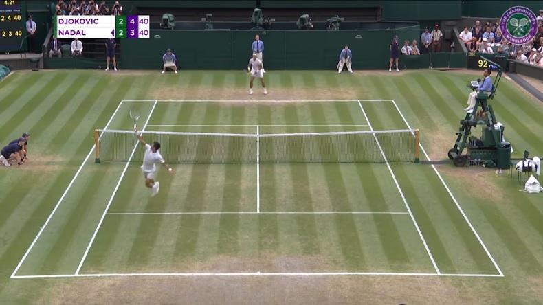 Les meilleurs points du Djokovic - Nadal magnifique à Wimbledon 2018.