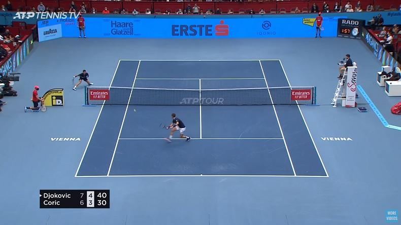 Novak Djokovic et sa capacité légendaire à être infranchissable par moments.