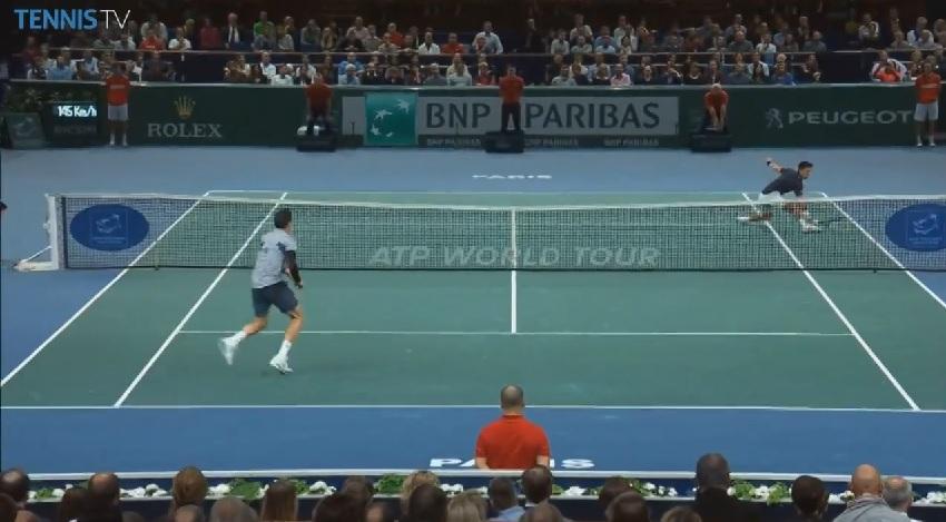 Novak Djokovic était injouable au Masters 1000 de Paris-Bercy 2014.