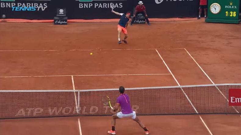 Dominic Thiem fait tomber Nadal en envoyant la foudre (Rome 2017)