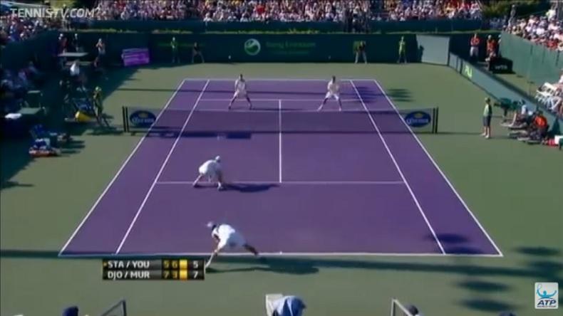 Le point de l'année 2011 en double mais Andy Murray n'avait pas le droit de faire ça ! (Vous comprendrez en regardant la vidéo)