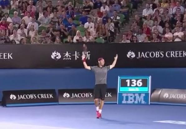 Dudi Sela a profité du moment contre Rafael Nadal à l'Open d'Australie.
