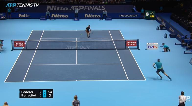 C'est tellement facile le tennis pour Rodge.