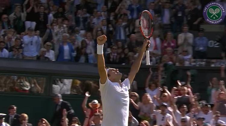 Roger Federer est revenu de loin contre Marin Cilic.