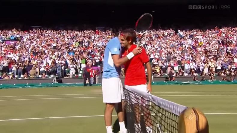 Un match de légende entre Federer et Del Potro en demi-finales des Jeux Olympiques 2012.