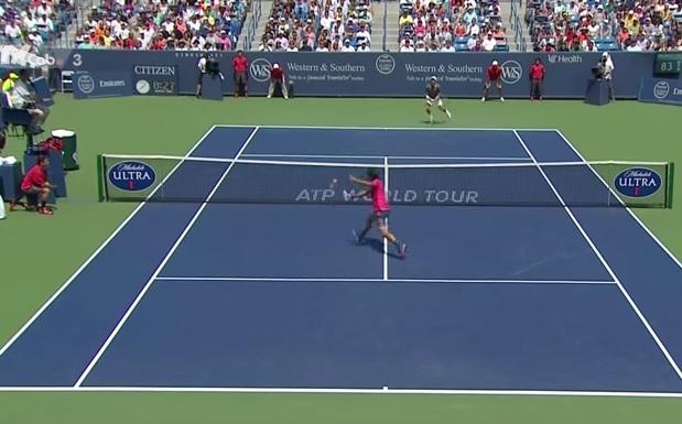 Roger Federer est allé chercher le titre à Cincinnati en produisant un tennis agressif.
