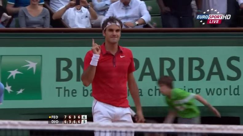 Un match de légende entre Federer et Djokovic en demi-finales de Roland-Garros 2011.
