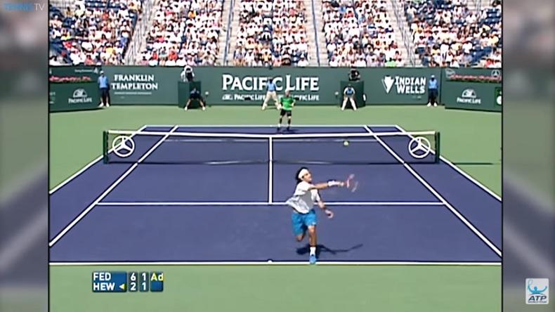N'ayons pas peur des mots, Federer et Hewitt ont peut-être joué le plus beau point de l'histoire.