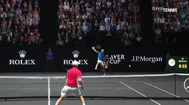 Trois points énormes de Federer et Nadal en simple (Laver Cup 2017)