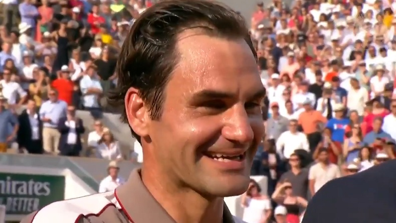 Roger Federer content de retrouver Nadal à Roland-Garros.