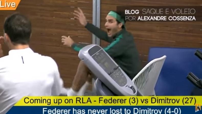 Federer vibre pour la rencontre de Sharapova.