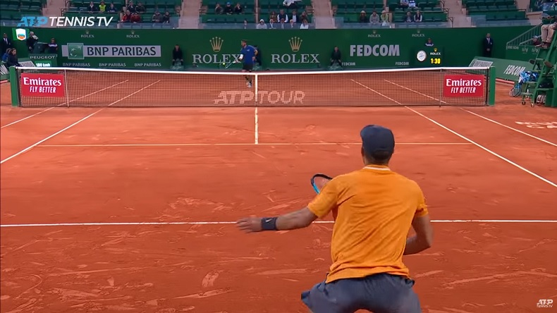 Fabio Fognini a produit du très grand tennis contre Borna Coric en quarts de finale à Monte-Carlo.