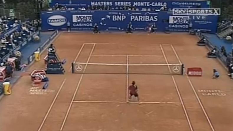 Gasquet - Federer, Monte-Carlo 2005