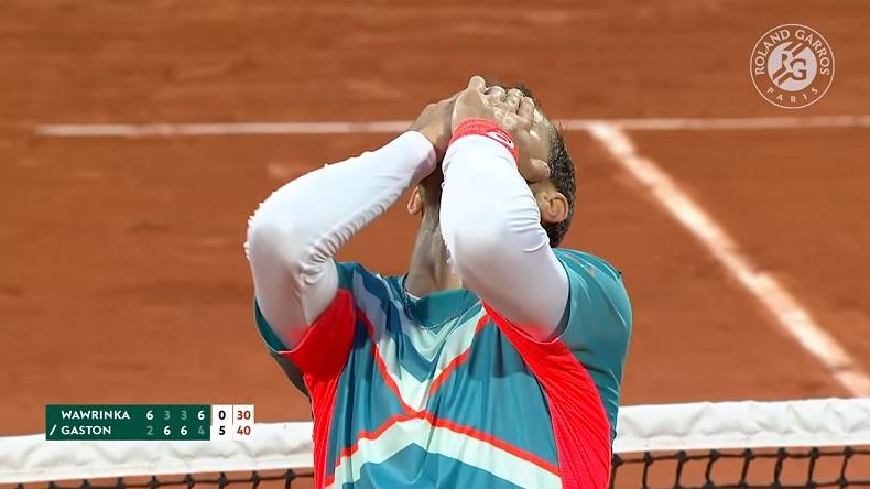 Hugo Gaston sort Stan Wawrinka au troisième tour de Roland-Garros 2020 !