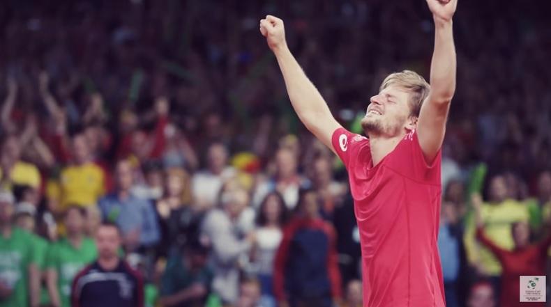Il y a eu un match énorme entre Goffin et Kyrgios (Coupe Davis 2017)