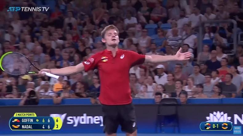 La performance monstrueuse de David Goffin contre Rafael Nadal à l'ATP Cup 2020.