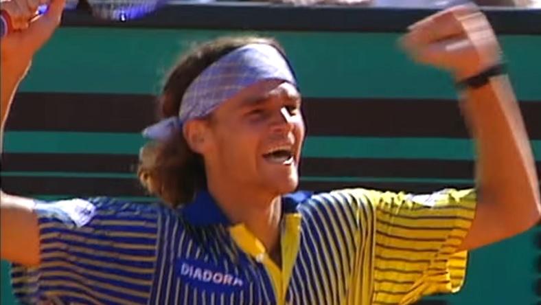 La surprise Gustavo Kuerten vient de remporter Roland-Garros 1997.