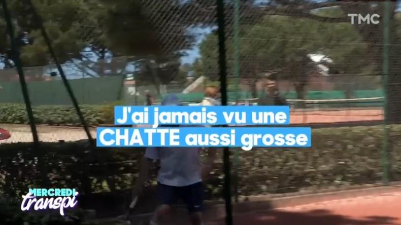 La légende Henri Crutchet, 87 ans, fissure à l'ITF Seniors d'Arcachon 2018.
