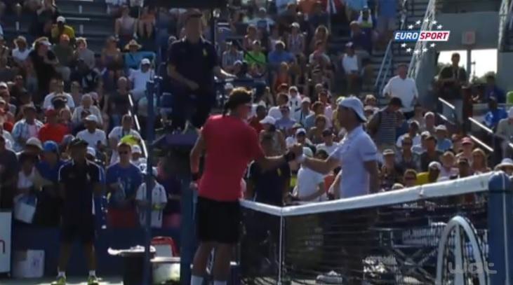 Richard Gasquet a dominé Denis Istomin au premier tour de l'US Open mais il n'a même pas eu à jouer de balle de match.