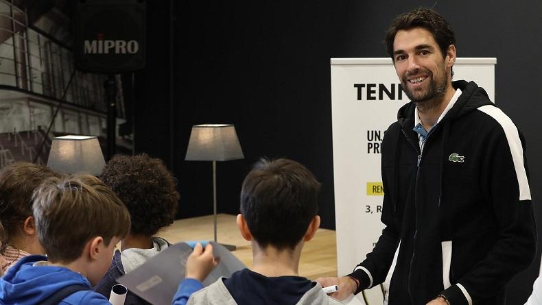 Interview avec Jérémy Chardy, le directeur du Challenger de Pau.