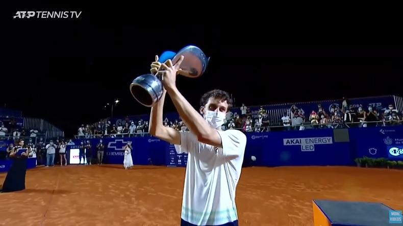 Juan Manuel Cerundolo est entré dans l'histoire en gagnant son premier titre ATP dès sa première participation, à Cordoba.