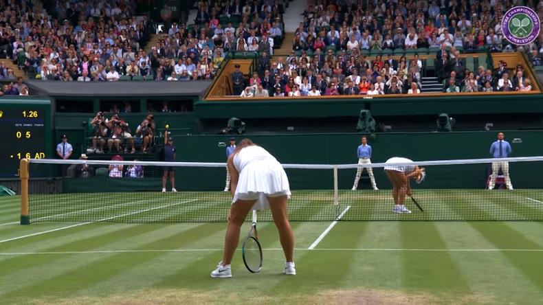 Angelique Kerber et Daria Kasatkina ont enchanté le Centre Court de Wimbledon.