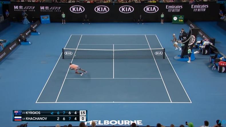 La compilation des meilleurs points de Nick Kyrgios à l'Open d'Australie 2020.
