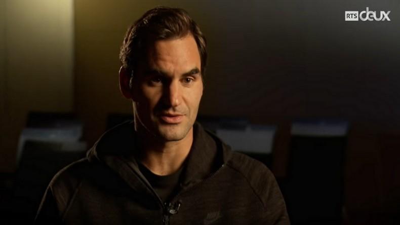 """Le documentaire de la RTS """"Les années Federer""""."""