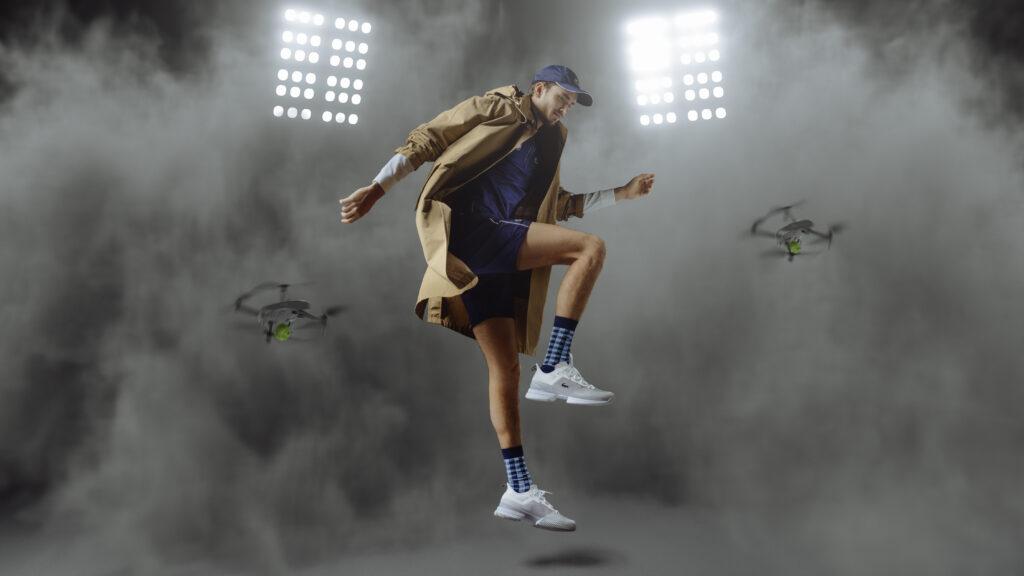 Le retour de Lacoste dans les chaussures tennis haute performance en 2021.
