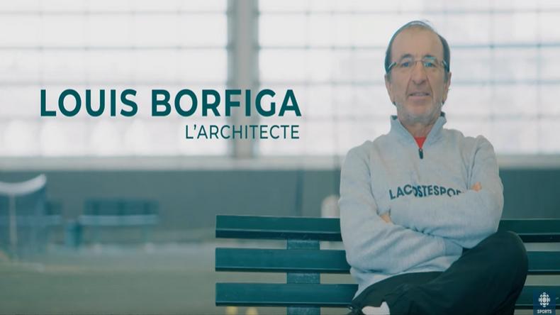 Louis Borfiga, le Français qui a amené le tennis canadien au sommet.
