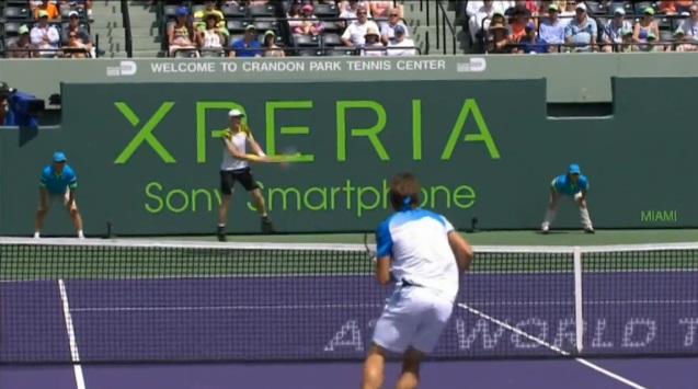 Andy Murray a gagné plusieurs points superbes sur la route du titre au Masters 1000 de Miami 2013.